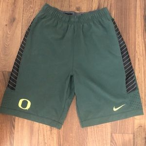 Oregon Ducks Nike Basketball Shorts